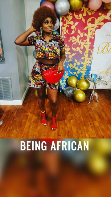 BEING AFRICAN